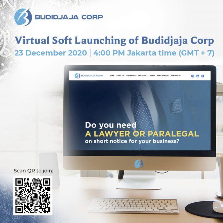 Virtual Soft Launching of Budidjaja Corp